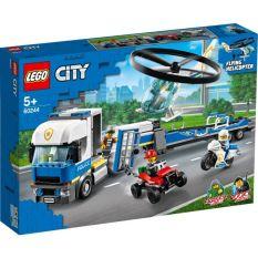 LEGO CITY 60244 Trực Thăng Vận Tải Cảnh Sát ( 317 Chi tiết)