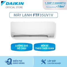[Trả góp 0%]Máy lạnh Daikin FTF35UV1V 1.5HP (12000BTU) – Tiết kiệm điện – Độ bền cao – Chống Ăn mòn – Tinh lọc không khí – Hàng chính hãng