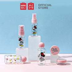 Bộ bình chiết du lịch Mickey Mouse Collection, 7 món Miniso Travel Kit (7PCS) (Giao ngẫu nhiên)