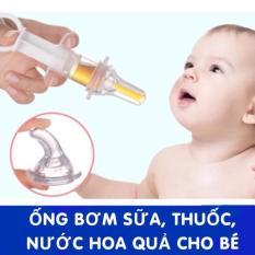 Dụng cụ ống bơm xilanh cho bé uống thuoc