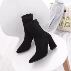 Giày bốt nữ đế số 7 siêu đẹp – giày boot nữ, boots nữ, giày cao gót nữ, giày cao gót đế vuông, giày cao gót 7p, giày cao gót giá rẻ, giày nữ đen, giày nữ thời trang, giày nữ hàn quốc, giày nữ hot, giày nữ đi học, giày nữ chất