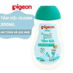 Tắm gội dịu nhẹ Pigeon Hương Jojoba 200ml (MẪU MỚI)