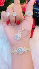 Bộ Trang Sức Nữ Xi Vàng 18k Gadoshop_VB4180603