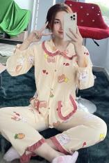 [55kg-65kg]Đồ Bộ Pijama Nữ Lụa Hàn Tiểu Thư có túi quần Màu Siêu Đẹp Mịn Cam Kết Hình Thật 100%