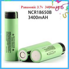 Cell Pin Li-Ion Panasonic 3.7v 3400mA – Xả 3A NCR18650B3.7V, Dùng Cho Pin Sạc Dự Phòng, Pin Laptop, Micro, Đèn Pin (Pin mới)
