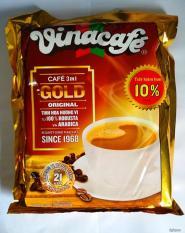 combo 2 túi lớn mỗi túi 40 Gói Cafe Hòa Tan 3 In 1 Gold Orinal Vinacafé (20g / Gói)