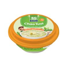 Cháo tươi Baby Sài Gòn Food Sò điệp & Rau ngót Nhật 240g