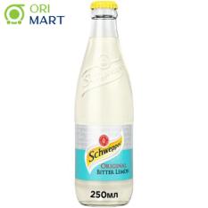 SchweppesOriginal Bitter Lemon 250 ml – Nước ngọt có ga vị chanh đắng ORIGINAL SCHWEPPES 250ml