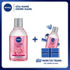 Nước tẩy trang chiết xuất hoa hồng Nivea Micellair Skin Breathe 400ml – 82366
