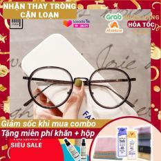 [Lấy mã giảm thêm 30%]Gọng kính cận mắt tròn kim loại thời trang nam nữ Lilyeyewear 9020 nhiều màu