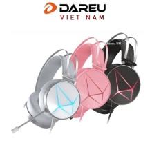 Tai nghe gaming Dareu EH722x Pink /Black giả lập 7.1 ( kết nối USB )
