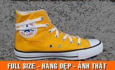 Giày sneaker cao cổ màu vàng đẹp nam nữ (tặng hộp)