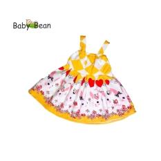 Đầm Lụa Bản Dây thời trang Hè bé gái 1-9 Tuổi BabyBean