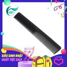Lược Thẳng 2 đầu thưa 5 mm , dầy 1 mm , dài 17,4 cm x 2,5 cm Lược thường giá thành thấp ( đen ) phụ kiện cho tóc