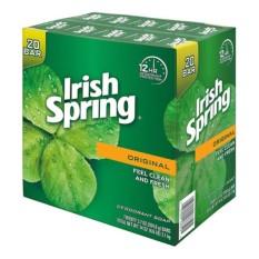 Lốc 20 Xà Bông Cục Irish Spring Original Feel Clean And Fresh Mỹ – 113G Thơm Mát Diệt Khuẩn