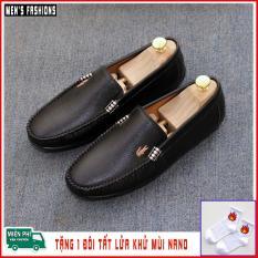 Giày lười da cao cấp, giày mọi nam Men's Fashions mã GL036. Tặng tất lửa khử mùi NANO