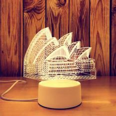 Đèn ngủ 3D Thay Đổi 3 Màu (50 Mẫu Khác Nhau)