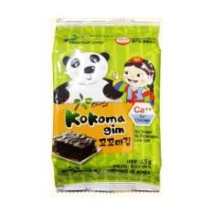 Lẻ 1 gói – Rong biển ăn liền Calci Kokoma Hàn Quốc – Rong biển cho bé ăn dặm. Date 5/2021
