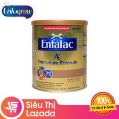 [Siêu thị Lazada] Sữa bột cho trẻ sinh non nhẹ cân Enfalac A+ Premature 400g – Cam kết HSD còn ít nhất 10 tháng – Cung cấp hàm lượng và chất lượng protein phù hợp cho trẻ rất nhẹ cân