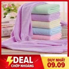 combo 6 khăn tắm, khăn choàng bản to 75x 140 khăn thái chuẩn