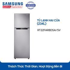 Tủ lạnh hai cửa Samsung Digital Inverter RT22FARBDSA/SV 234L (Đen) – Hãng phân phối chính thức, tiết kiệm điện