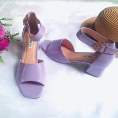Giày sandal nữ Rosata quai hậu RO165