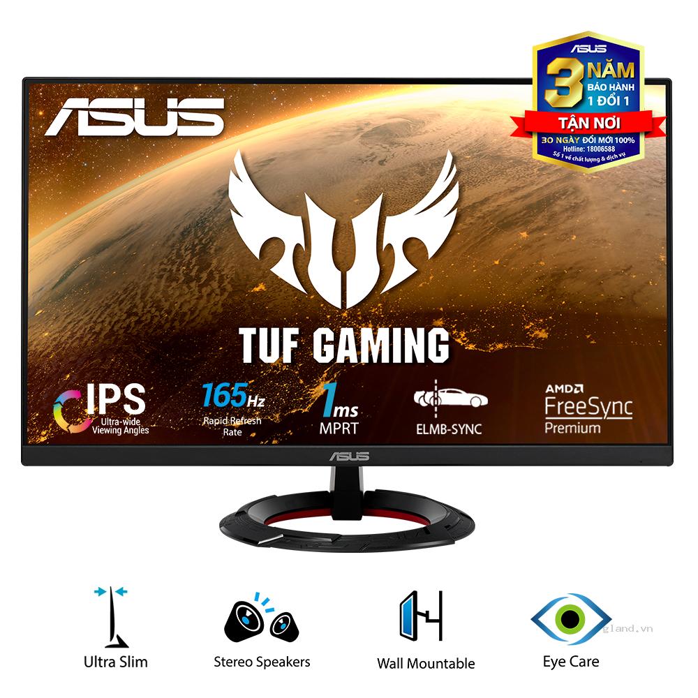 Màn hình ASUS TUF Gaming VG249Q1R 23.8 inch (Full HD /IPS/ 165Hz 1ms/ FreeSync Shadow Boost)