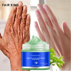 FAIR KING Green Tea Moisturizing Hand Wax Whitening Skin Hand Mask Repair Exfoliating Calluses Film Anti-Aging Hand Skin Treatment Cream