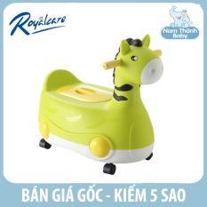 (Sỉ = lẻ) Bô trẻ em hình thú có bánh xe 2 trong 1 Royalcare – Xanh lá