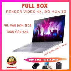 [FULL BOX] Asus Zenbook 14 Q407IQ, Ryzen R5-4500U, RAM 8G, SSD 256G Nvme, VGA NVIDIA MX350-2G, Màn 14 Full HD IPS, Tràn Viền Tới 92%