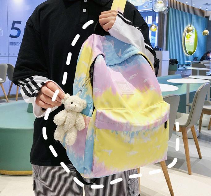 Balo thời trang đẹp độc Galaxy cho học sinh, sinh viên – Vải oxford bền bỉ, chống nước – Nhiều ngăn rộng