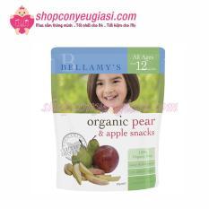 Snacks Vị Lê Và Táo Hữu Cơ Bellamy's Organic – 20g