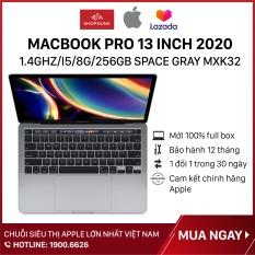 Laptop Macbook Pro 13 inch 2020 1.4GHz/i5/8G/256GB SSD Space Gray MXK32, Hàng chính hãng Apple, mới 100%, nguyên seal, Bảo Hành 12 Tháng – Shopdunk
