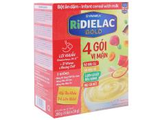 Bôt ăn dặm 4 vị mặn ( ngọt) Ridielac- Hộp giấy 200g
