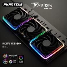 Bộ 2 dây LED Phanteks DIGITAL RGB NEON LED KIT COMBO SET – Phụ kiện đi dây linh hoạt, màu đẹp, siêu sáng