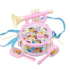 [HCM]Bộ đồ chơi trống kèn cho bé đồ chơi trống kèn cho béđồ chơi trống cho bé