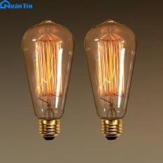 Bộ bóng đèn Edison Vintage 40W E27 220V B259 Ngân Tín