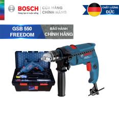 Bộ máy khoan động lực cầm tay Bosch GSB 550 FREEDOM SET 90 chi tiết