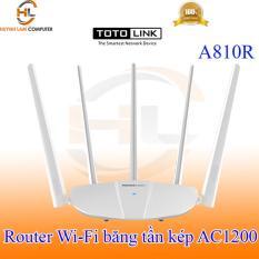 Router WiFi băng tần kép AC1200 Totolink A810R – DGW phân phối