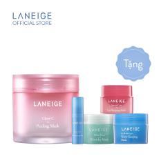 Bộ top 5 mặt nạ dưỡng da Hàn Quốc Laneige Clear-C Peeling Mask Collection