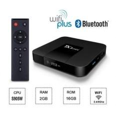 Andoid TV BOX TX3 Mini 2020 (TX3 mini – A) Wifi 2 băng tần 2.4/5GHZ Bluetooth 4.1 Ram 2GB – Bộ Nhớ Trong 16GB Androi TV 9.0 hỗ trợ tìm Kiếm Giọng Nói cấu hình mạnh mẽ trong tầm giá