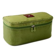 Bộ 2 túi đựng đồ lót du lịch mnpl (Xanh rêu)