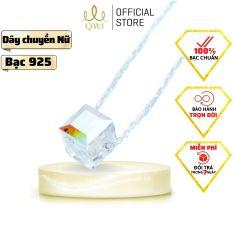 QMJ Dây chuyền phale lấp lánh đá bảy màu được gia công vô cùng tỉ mỉ, kỹ lưỡng tạo nên mẫu dây chuyền hoàn hảo, vòng cổ thời trang nữ đẹp – QDL0501
