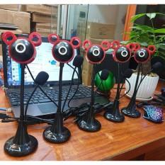Webcam chân cao có mic full HD sắc nét