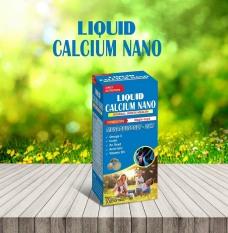 Viên uống Liquid Calcium Nano Mk7 Giúp bổ sung Canxi, Vitamin K2, D3 và khoáng chất cần thiết cho cơ thể hỗ trợ phát triển chiều cao ở trẻ, ngừa loãng xương ở người già- hộp 100 viên USA Pharma