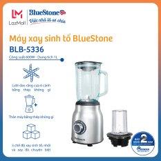[7.7][Tặng ly giữ nhiệt 399k] Máy xay sinh tố BlueStone BLB-5336 – Công suất 600W – Cối thủy tinh 1L xay được đá – 3 chế độ xay – 6 lưỡi căt – – Bảo hành 24 tháng – Hàng Chính Hãng