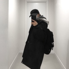Áo khoác Parka Windy, JACK LANE, áo khoác nam nữ Unisex dáng rộng Jack Lane