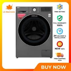 Trả Góp 0% – Máy giặt sấy LG Inverter 10.5 kg FV1450H2B – Miễn phí vận chuyển HCM
