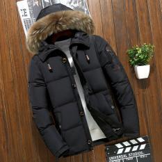 Áo khoác phao nam mũ lông thời trang PH61