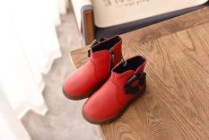giày Bốt Bé Gái Size 21-30 da mềm mịn